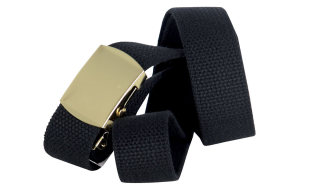 25291 Black Web Belt