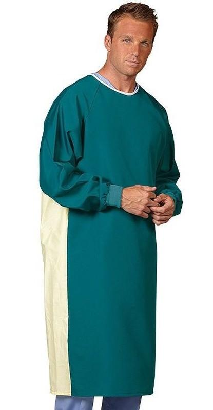 504 Barrier Front Precaution Gown Blue Mist