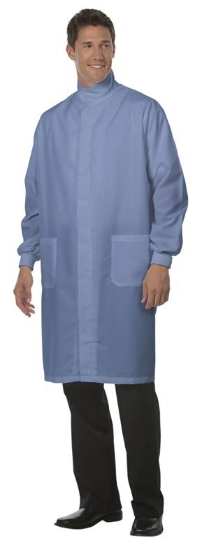 6431 Unisex Ciel PFAS-Free FShld Lab Coat/Snaps/TG