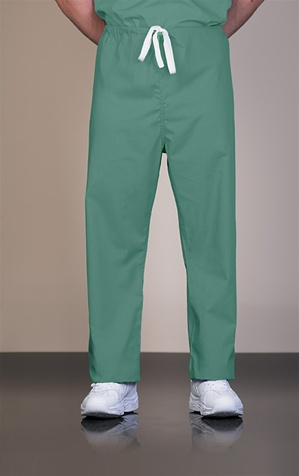 813 Unisex Cotton Jade Reversible Drawcord Scrub Pant