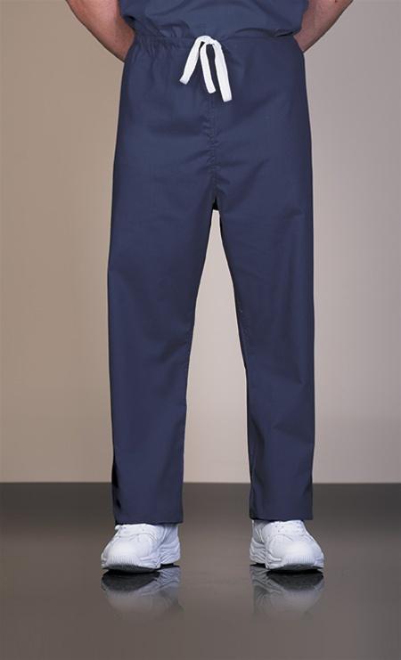 825 Unisex Fashion Blend Navy Reversible Long Scrub Pant