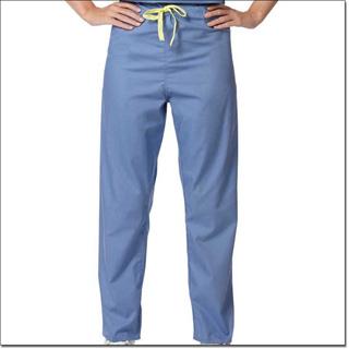 857 Ciel Blue Unisex Reversible Drawcord CM Scrub Pant – Fashion Blend