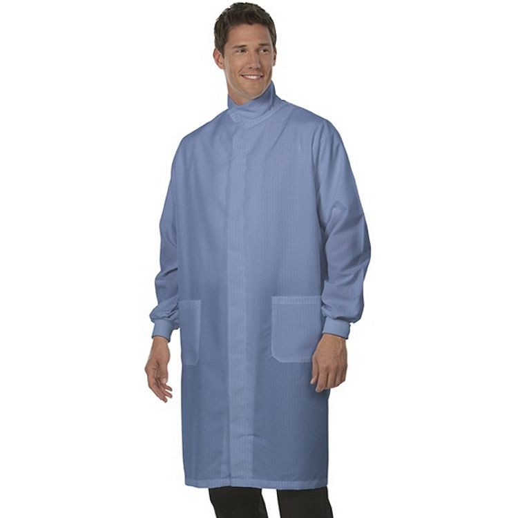 6430 Fashion Seal Unisex Protective Coat w/Hook & Loop at Neck – Fashion Shield Front