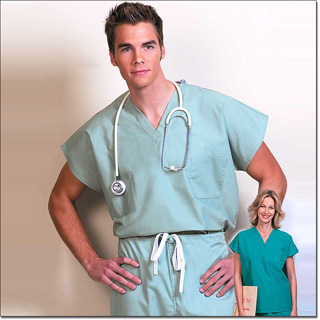 6790 Misty Reversible Unisex Cap Sleeve Scrub Shirt – Fashion Blend