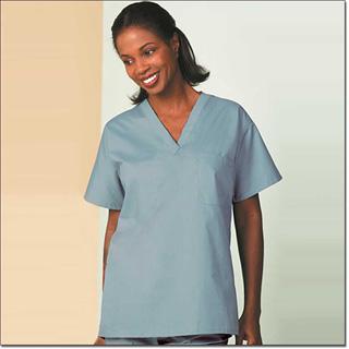 6795 Misty Reversible Unisex Set-In Sleeve Scrub Shirt – Fashion Blend