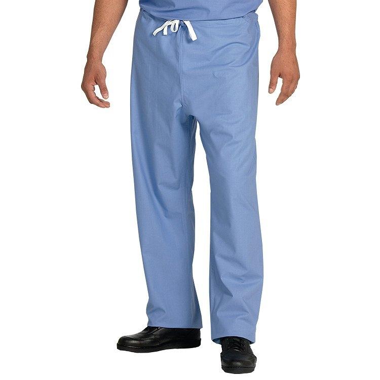 7712 Ciel Blue Unisex FP Reversible DCord Scrub Pants