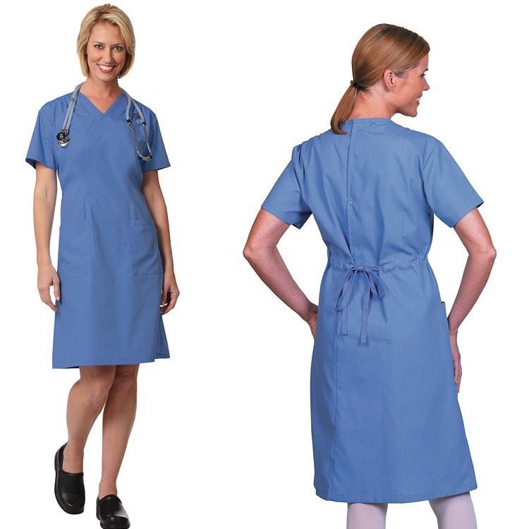 7200 Fashion Seal Ladies' Step-In Scrub Dress