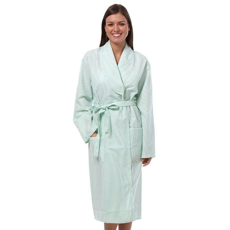 1835 Green Fashion Seal Shawl Collar Robe