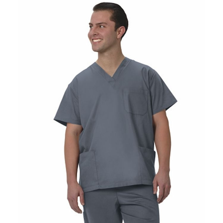 6520 Fashion Seal Unisex V-Neck 3-Pocket Scrub Shirt – Simply Soft