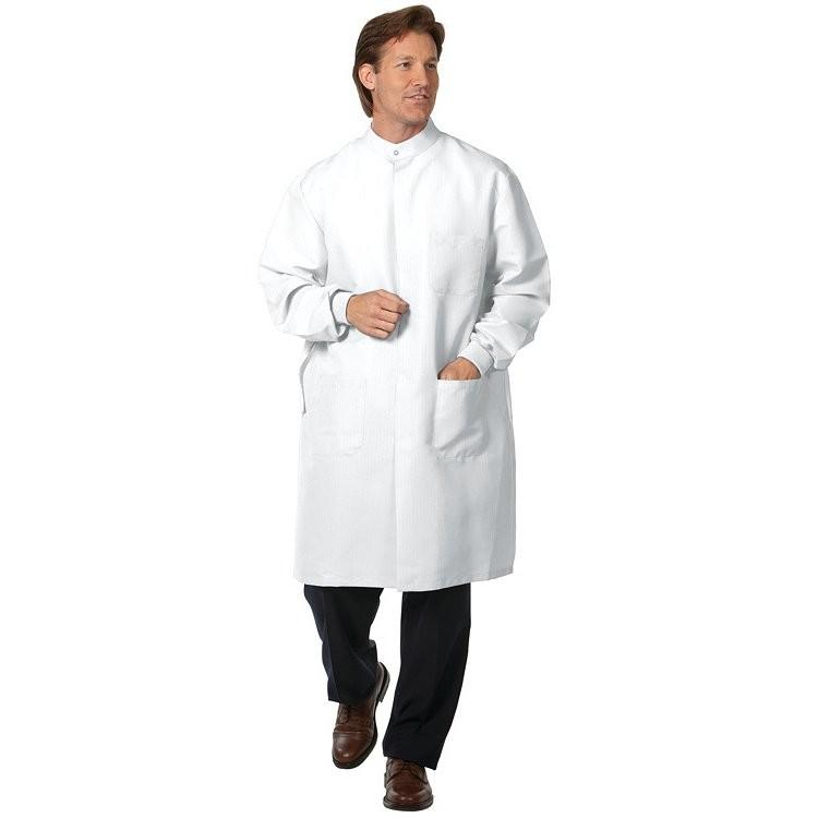 6427 White Unisex  PFAS-Free T-Shield D Lab Coat