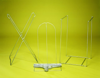 55077 X Style Wire Bag Stand