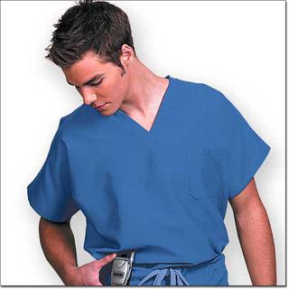 78725 Blueberry Unisex FP Fashion Scrub Shirt