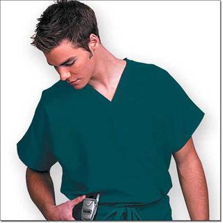 78731 Unisex FP Fir Green Fashion Scrub Shirt