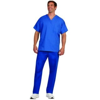 7922 Blueberry Unisex Fashion Cargo Scrub Pants