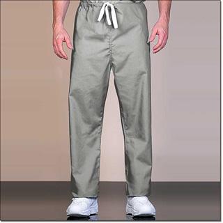 888 Gray Unisex Fashion Blend Reversible Long Scrub Pant