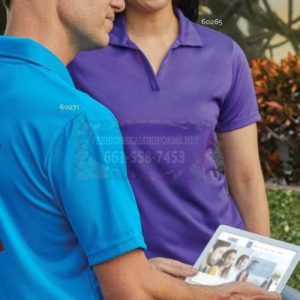 Men's Athletic Mesh Polos 100% Polyester Shirt