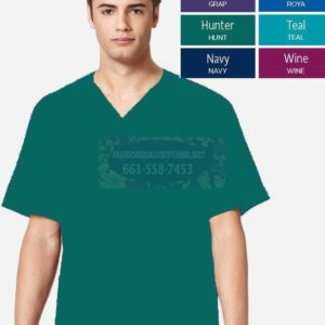 WWK103 Hunter Men's V-Neck Top