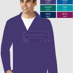 WWK803 Grape Men's Blazer 65% Polyester / 35% Cotton